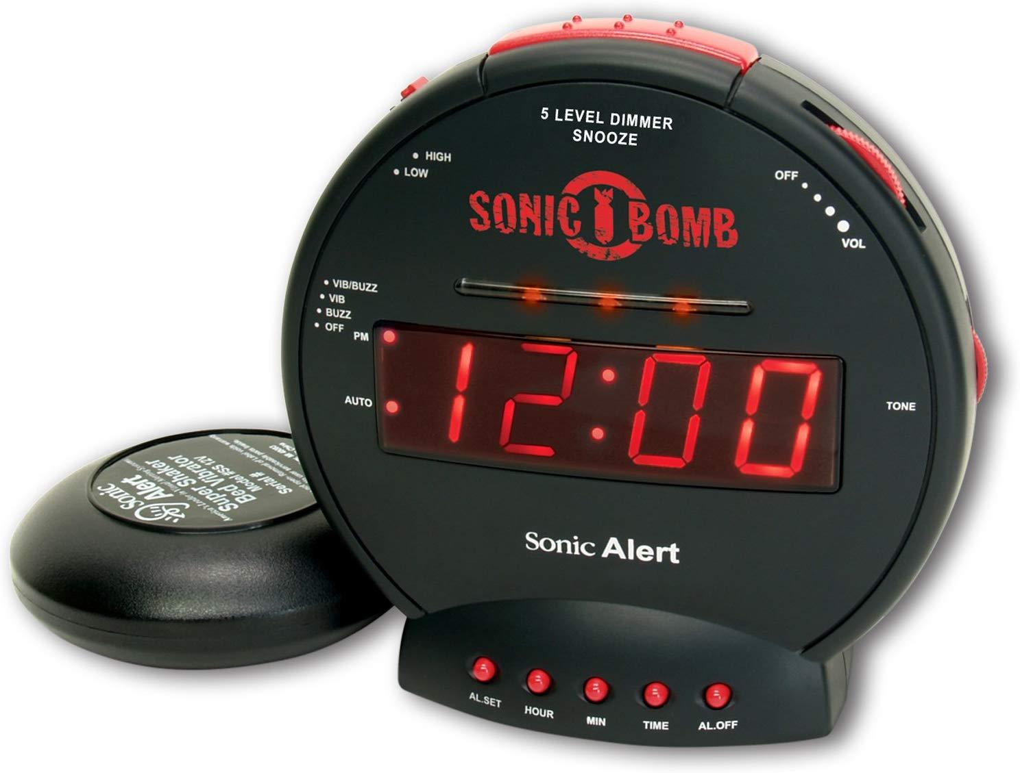 Sonic Alert Digital Alarm Clock