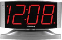 Red LED Alarm Clock with Swivel