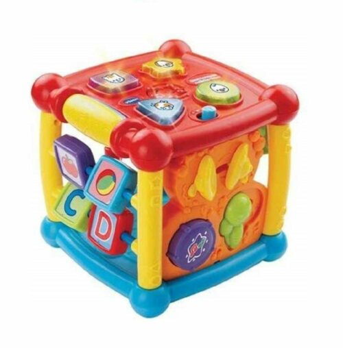 百面学习娱乐方体玩具 Vtech Busy Learner Activity Cute