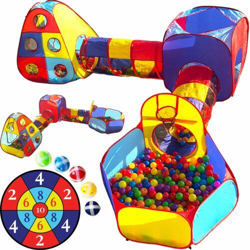 锻炼小孩爬行能力的游乐场 Playz Five Piece Kids Playhouse