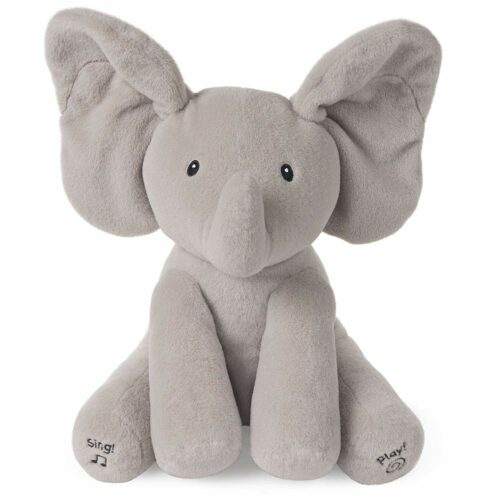 20.  可爱的小象毛绒玩具  Flappy The Elephant Plush Toy