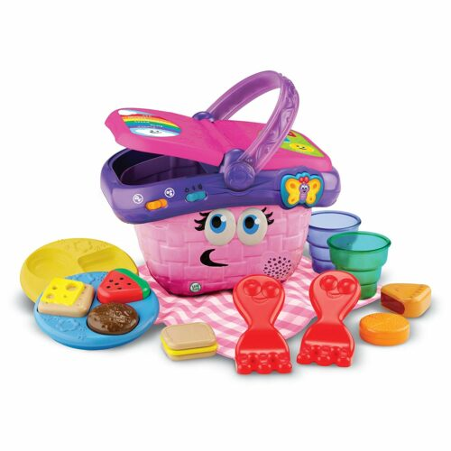 1.可爱的野餐工具盒 LeapFrog Shapes and Sharing Picnic Basket