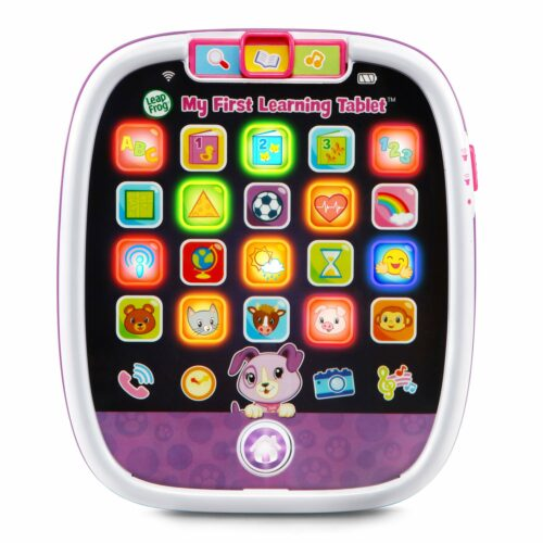 6. 帮孩子认识形状,字母,数字,动物等的掌上玩具 LeapFrog My First Learning Tablet