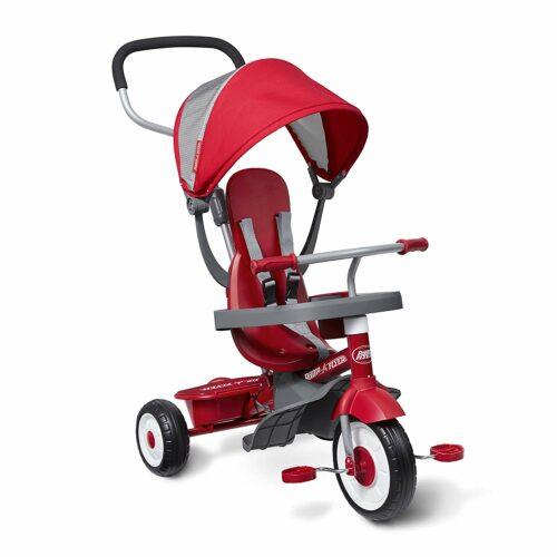 7. 让小孩感受到驾驶乐趣的三轮车 Radio Flyer 4-in-1 Trike