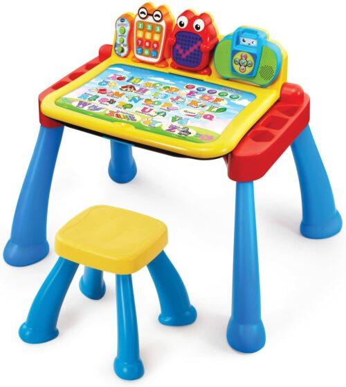 2岁儿童学习桌玩具 VTech Touch and Learn Activity Desk Deluxe
