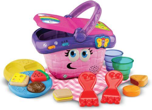 2岁小孩玩具 野餐聚会玩具 LeapFrog Shapes and Sharing Picnic Basket