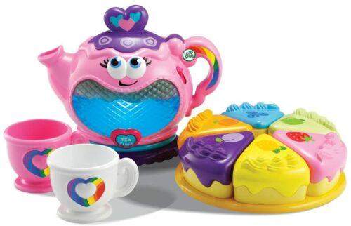 2岁小女孩 儿童茶具和蛋糕玩具 LeapFrog Musical Rainbow Tea Set