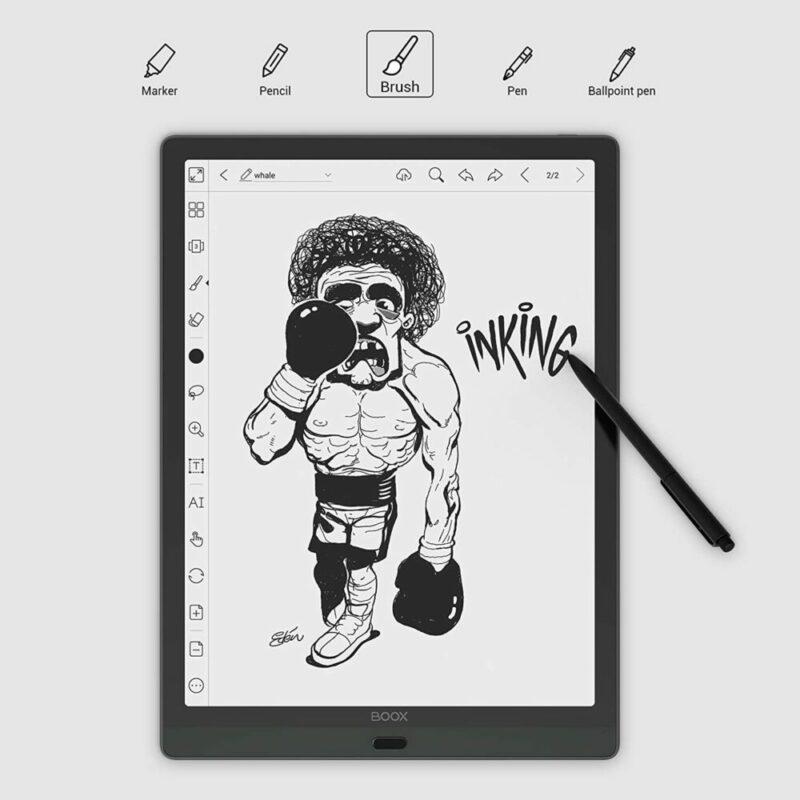 可以用来做电子笔记的设备:BOOX Max Lumi 13.3 ePaper