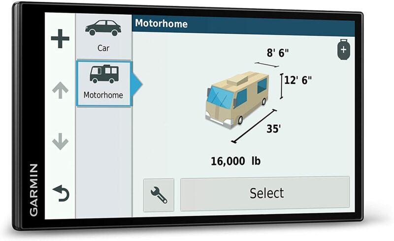 最适合房车RV的一款汽车导航:Garmin RV 770 NA LMT-S