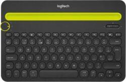 4 非常小巧灵活偏于携带的一款键盘:LOGITECH K480 MULTI DEVICE BLUETOOTH KEYBOARD