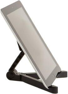 美国最好用的iPad支架推荐【TOP6】AmazonBasics adjustable tablet holder stand Compatible with Apple iPad, Samsung Galaxy and Kindle Fire Tablets