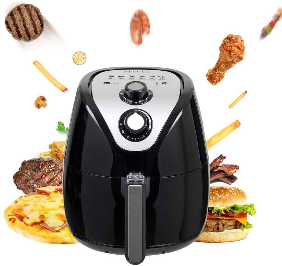价格最实惠的一款空气炸锅:Secura Air Fryer Air Fryers Oven