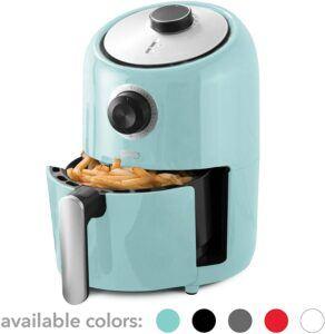 占地面积最小的一款空气炸锅:Dash Compact Air Fryer Oven Cooker