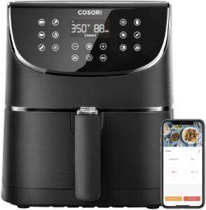 容量最大的一款数控空气炸锅:COSORI Smart WiFi Air Fryer 5.8QT