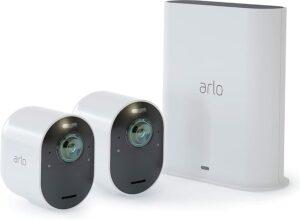 带 4K 视频的最佳家庭安全摄像头 Arlo Ultra 2 Spotlight Camera