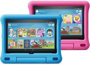 总体性能最佳的儿童平板电脑:Amazon Fire HD 8儿童版平板电脑