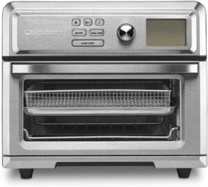 操作最简单并且实用的一款空气炸锅:Cuisinart Digital Convection Toaster Oven AirFryer, Silver