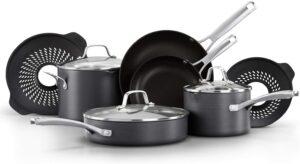 最佳 CALPHALON 不粘炊具套装 Calphalon Classic Pots and Pans Set