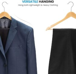 High-Grade Wooden Suit Hangers