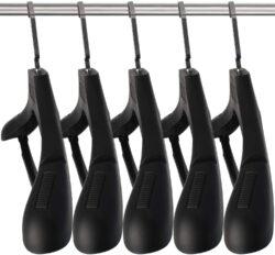 DEDU Plastic Extra Wide Suit Hangers
