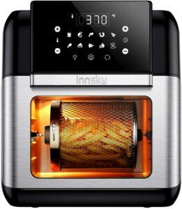 Innsky 10.6 Quart Air Fryer Oven with Rotisserie & Dehydrator 空气炸锅