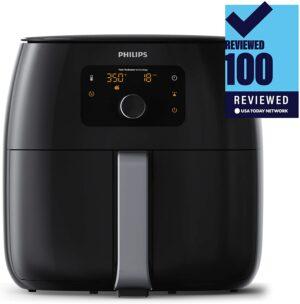 Philips Kitchen Appliances Digital Twin TurboStar Airfryer XXL