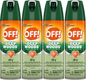 OFF! Deep Woods 4Pack