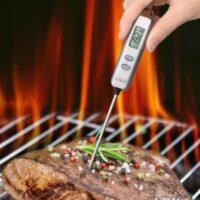 烹饪时测量食物用的温度计 Instant Read Thermometer Digital Cooking Thermometer