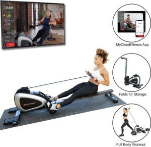 划船机 Rower Rowing Machine with Full Body Exercises and Free App