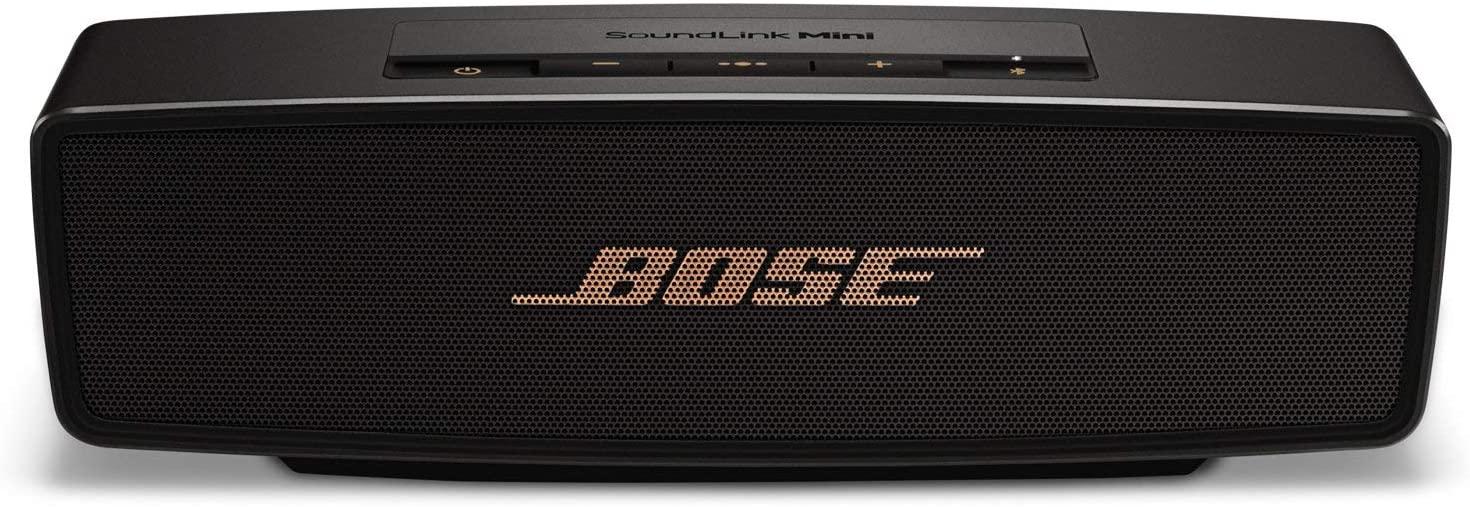 手感扎实并且设计简洁的一款蓝牙音箱: Bose SoundLink Mini II