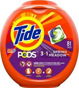 汰渍洗衣粉 Tide Pods 3 in 1, Laundry Detergent Pacs