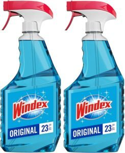 玻璃和窗户清洁剂喷雾瓶 Windex Glass and Window Cleaner Spray Bottle