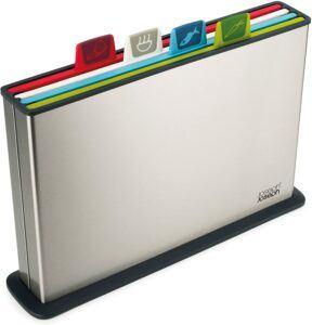 给食物分类的一款切菜板 Joseph Plastic Cutting Board