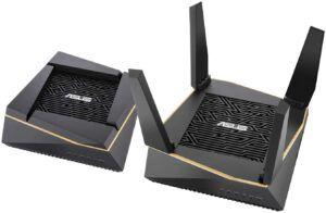 适合有多层建筑使用的路由器 ASUS AiMesh AX6100 Wi-Fi System (RT-AX92U)