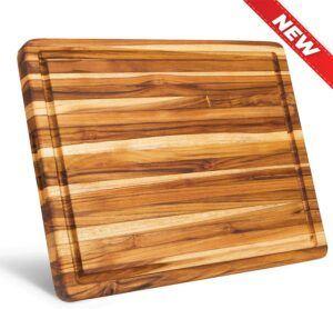 非常漂亮的一款木制菜板 Architec Gripperwood Cutting Board