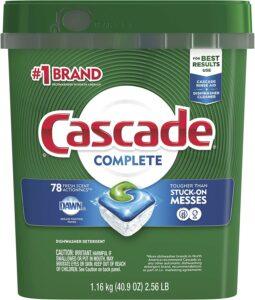 洗碗机洗涤剂 Cascade Platinum Dishwasher Pods