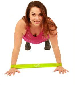 健身锻炼用的弹力带 Fit Simplify Resistance Loop Exercise Bands