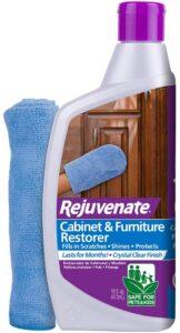 家具抛光剂 Rejuvenate Cabinet & Furniture Restorer Fills in Scratches Seals and Protects Cabinetry