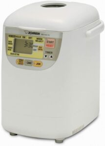 可爱的可编程的迷你面包机 Zojirushi BB-HAC10 Home Bakery 1-Pound-Loaf Programmable Mini Breadmaker