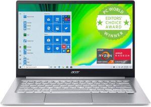 价格非常实惠的笔记本电脑 Acer Swift 3 Thin & Light Laptop 14Inch