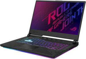 很流行的一款游戏笔记本电脑 Asus Rog Strix G15 Gaming Laptop, 15.6寸 240hz