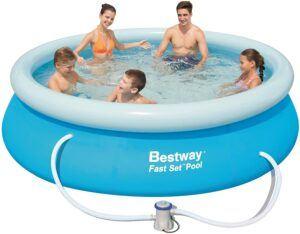 最好的成人充气游泳池 Fast Set Above Ground Pool Set