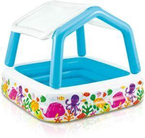 最适合儿童的充气游泳池 Intex Sun Shade Inflatable Pool