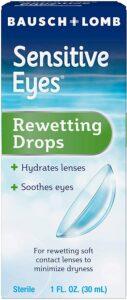 最适合带隐形眼镜的人用的眼药水 Contact Lens Solution by Bausch & Lomb