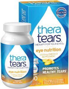 最适合带隐形眼镜的人用的眼药水TheraTears Eye Drops for Dry Eyes