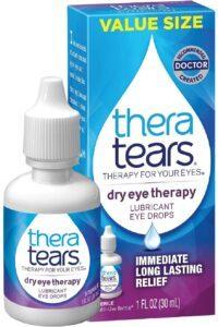 最适合缓解眼睛中度干燥的眼药水 Dry Eye Therapy Lubricant Eyedrops