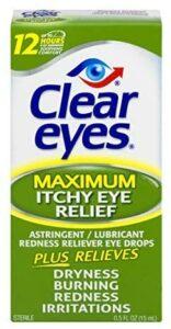 最适合解决眼睛瘙痒的止痒眼药水 Clear Eyes Eye Drops