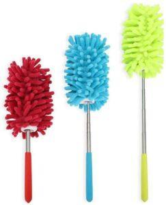 用来清理灰尘用的除尘刷 Microfiber Extendable Hand Dusters