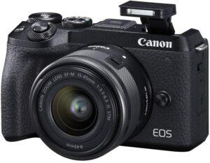 适合旅行的VLOG相机 Canon EOS M6 Mark II Mirrorless Camera