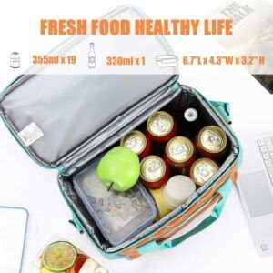 非常适合手提的冷藏保温箱 MIER 18L Large Soft Cooler Insulated Picnic Bag